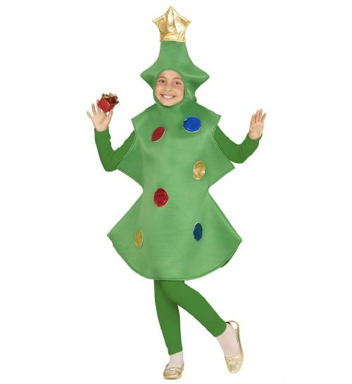 Childrens Christmas Tree Costume Christmas Fancy Dress